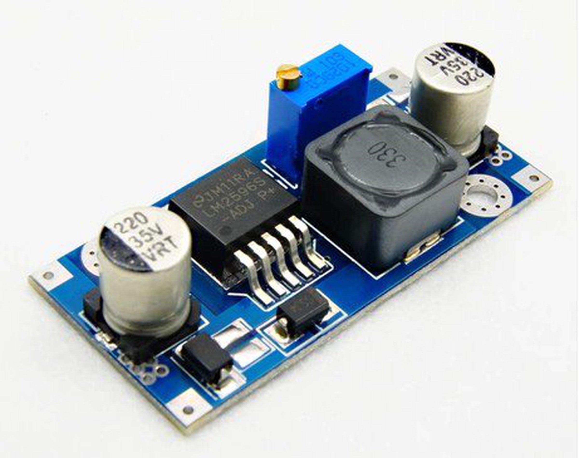 Dc-dc преобразователь с регулировкой напряжения и тока схема