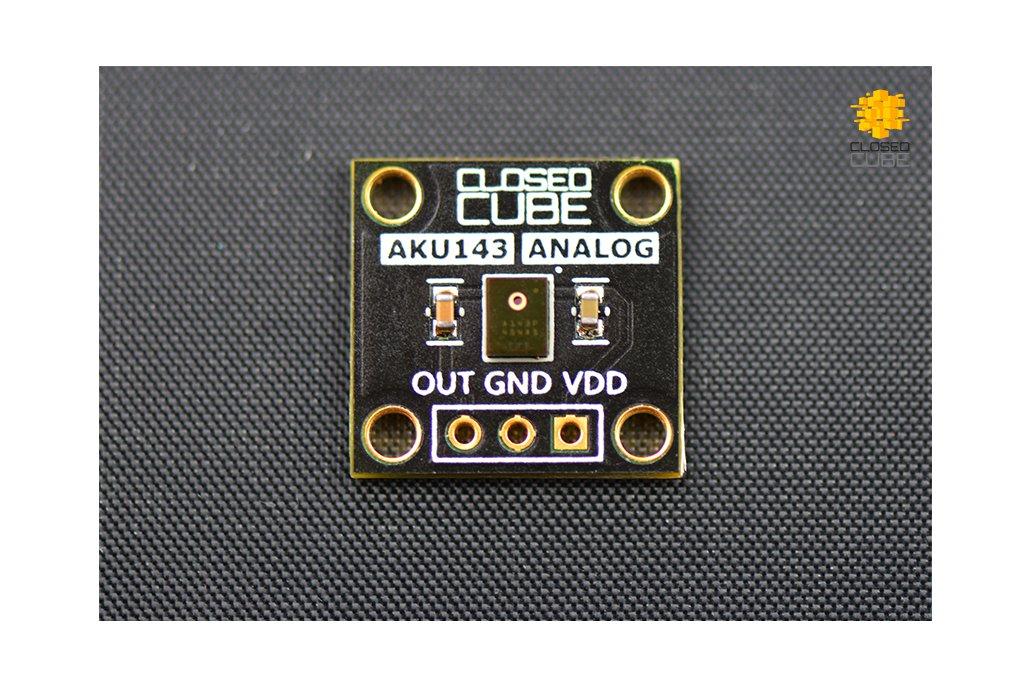 Akustica AKU143 Analog MEMS Microphone Breakout 1