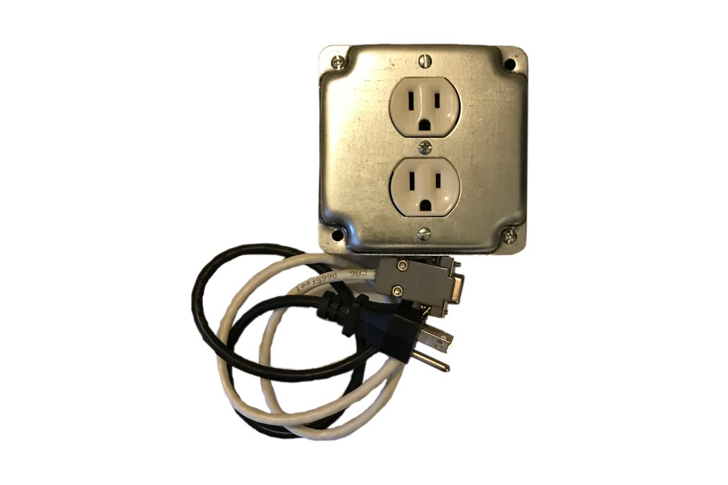 RS232 Controlled Outlet 1