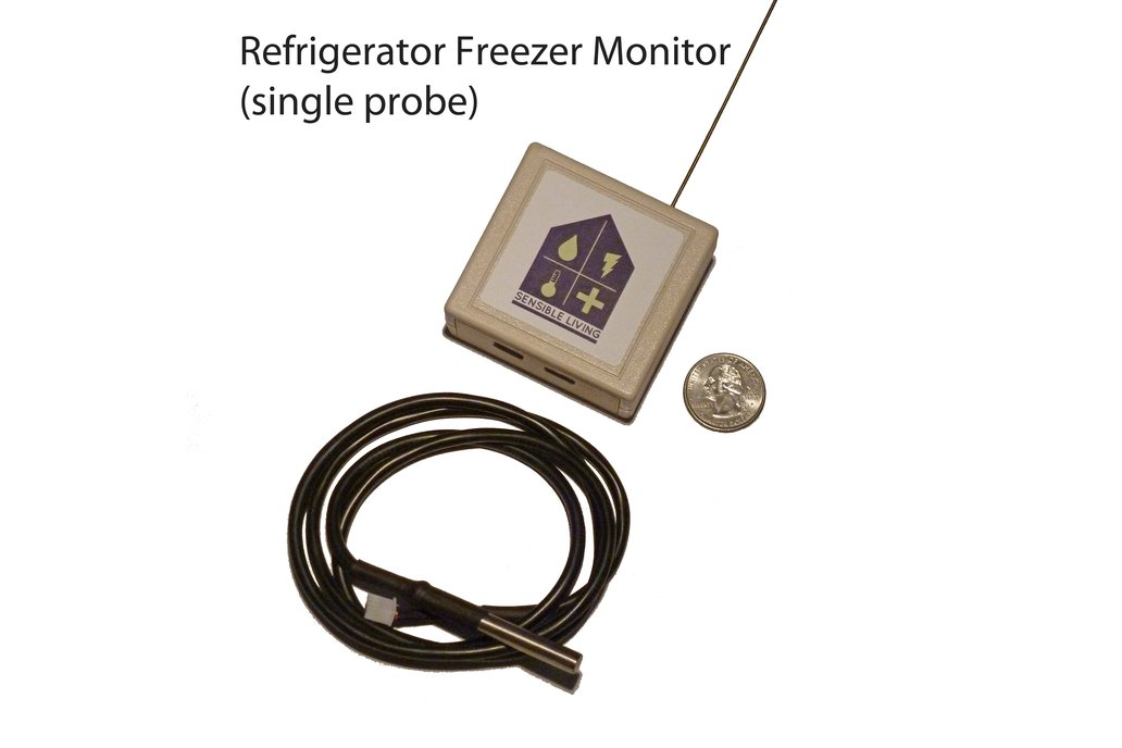 Wireless Refrigerator/Freezer sensor/alarm 1