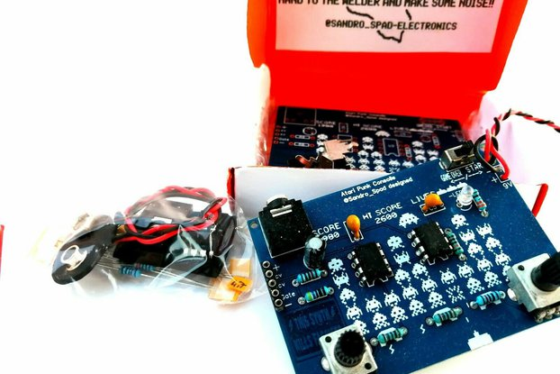 Diy synth kit, Atari punk console