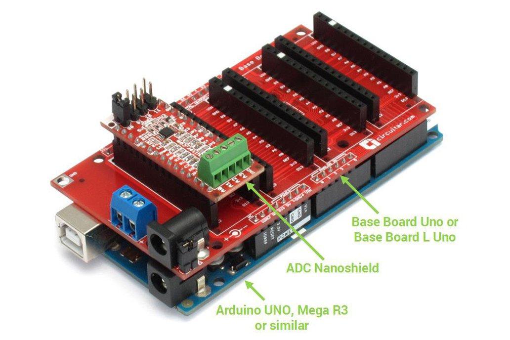 ADC Nanoshield - ADS1115 2