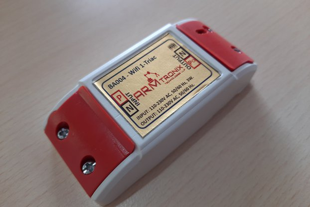 BA004: Wifi Single Dimmer (triac based)