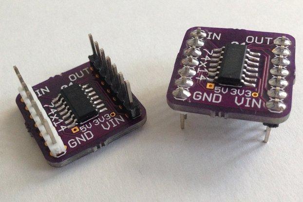 Hex Inverter Breakout Board