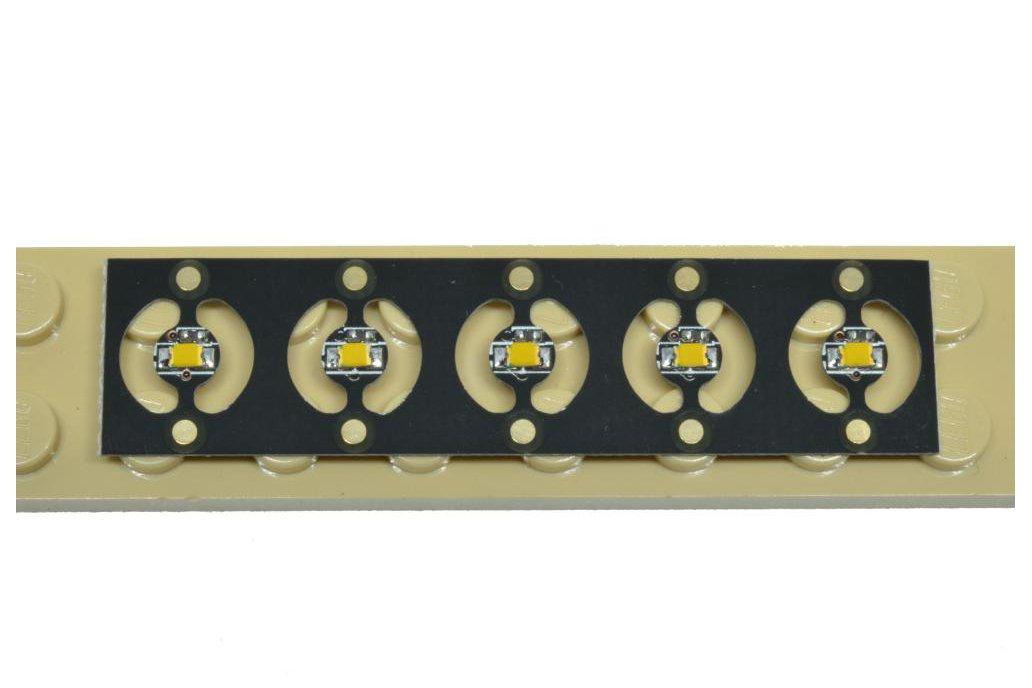 10 Warm White 4mm Pico LEDs on Panel 1