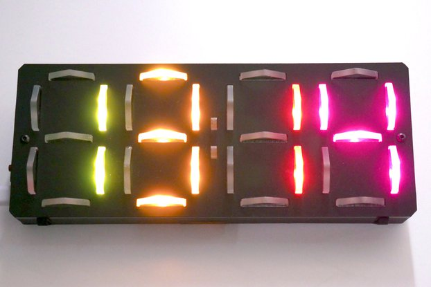 Mod-able Laser WiFi Clock