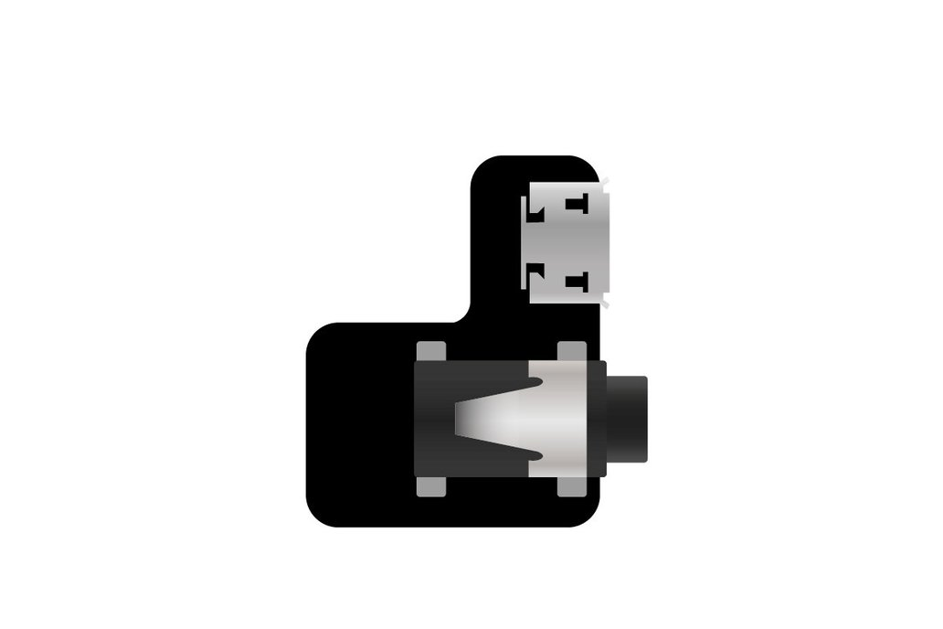GoPro Audio Jack adapter with power input 1