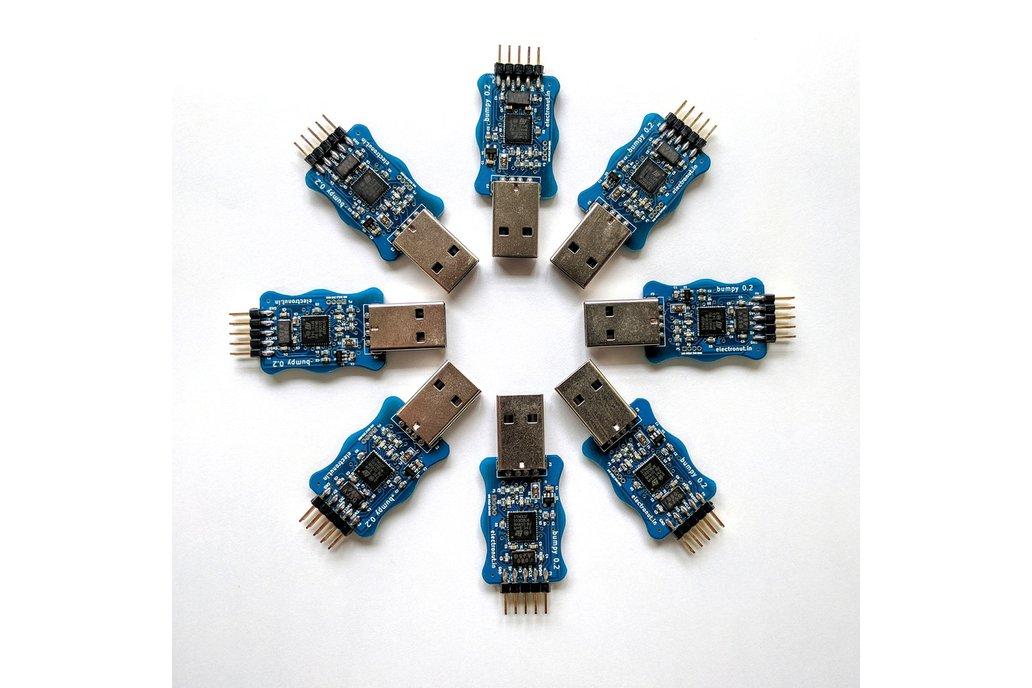 Bumpy blackmagic probe compatible SWD debugger 1