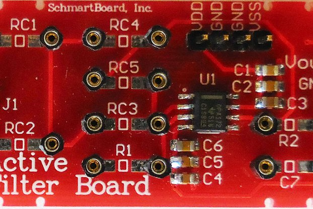 Schmartboard Active Filter