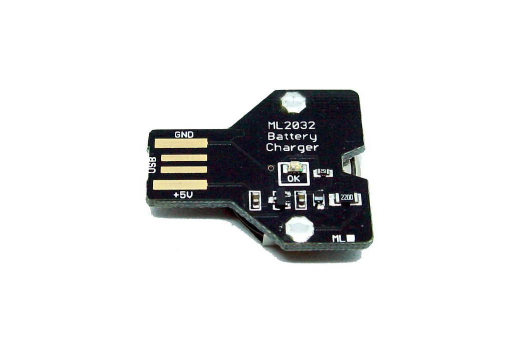 USB Lithium coin cell battery charger ML2032 1