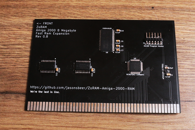 Amiga A2000 8MB RAM expansion - Memory Zorro II 2