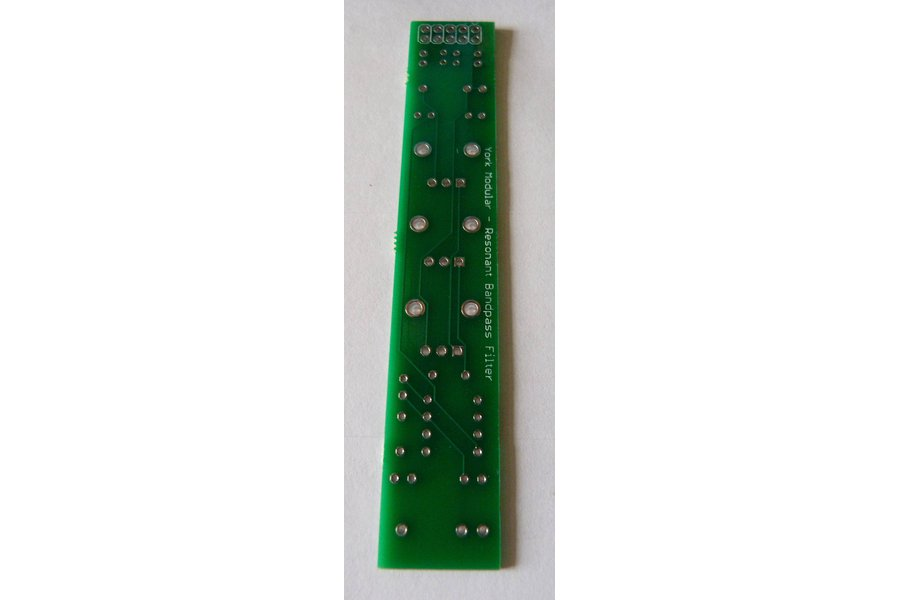 Resonant Band Pass Filter for Eurorack - bare PCB