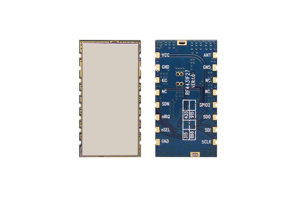 RF4432F27 500mW wireless transceiver module 1