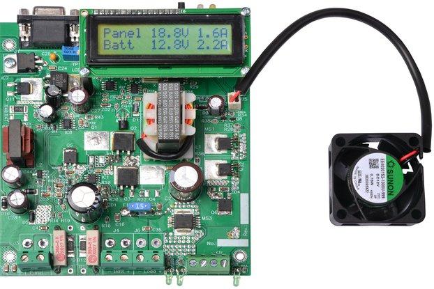 Open Frame Smart Solar Charger Controller MPPT-FAN