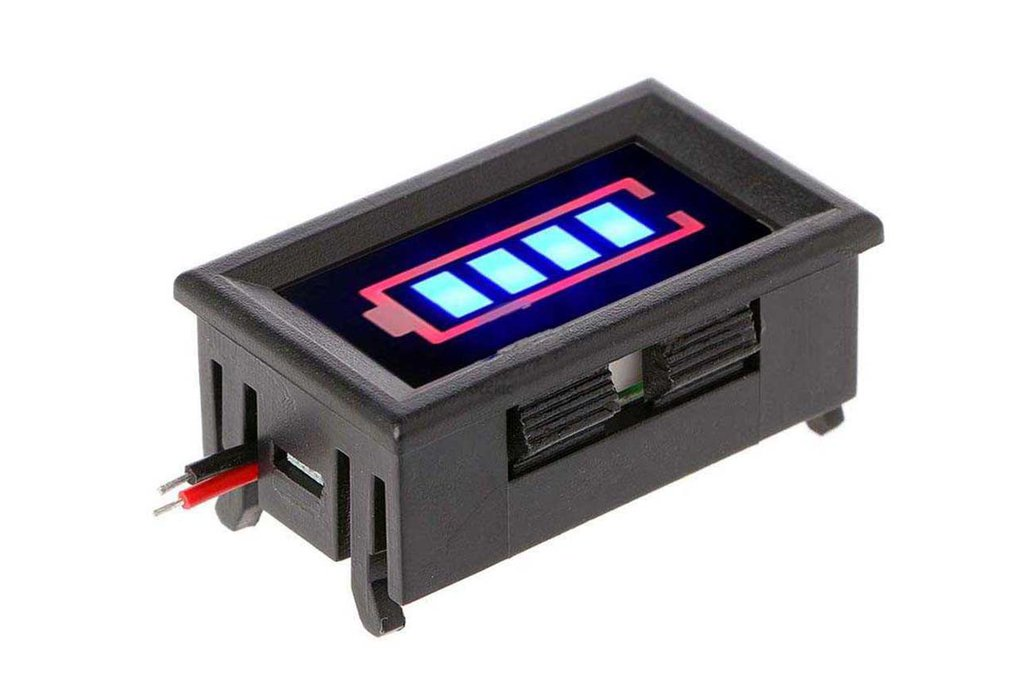 BMS 3S 18650 Lithium Battery Capacity Indicator 1