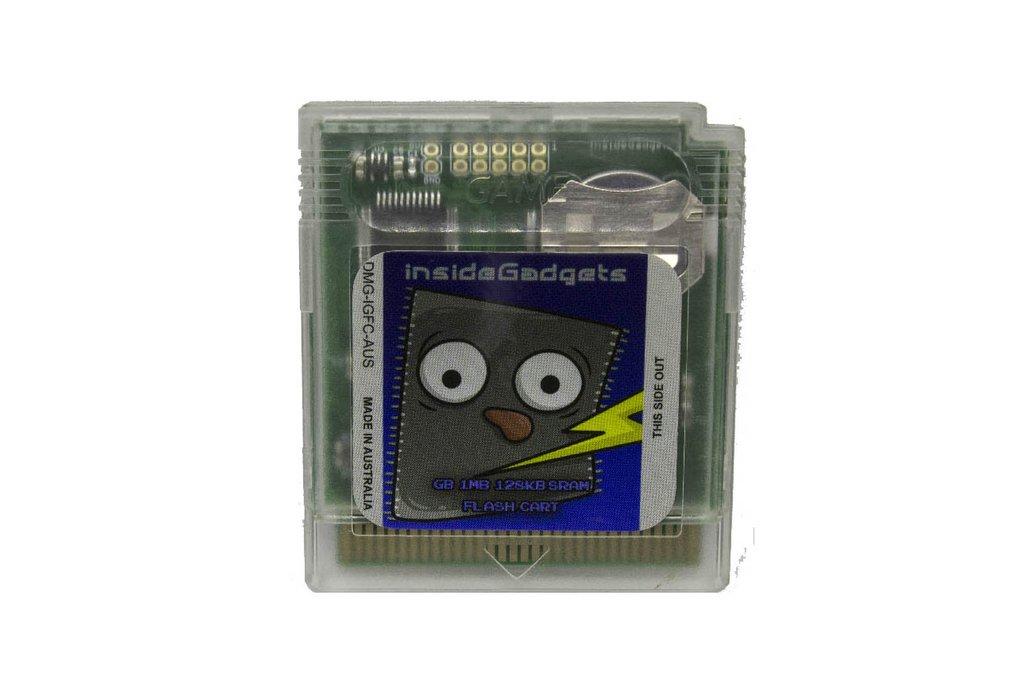Gameboy 1MB 128KB SRAM Flash Cart 1
