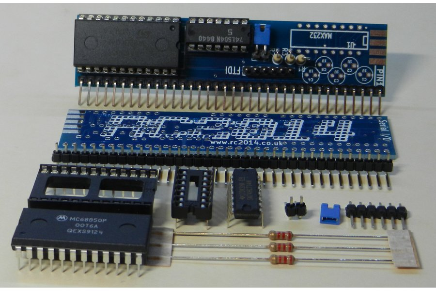 Serial I/O Module For RC2014 Z80 Homebrew Computer