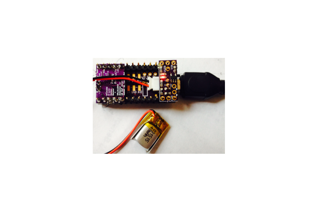 LiPo battery charger add-on for Teensy 3.1 4