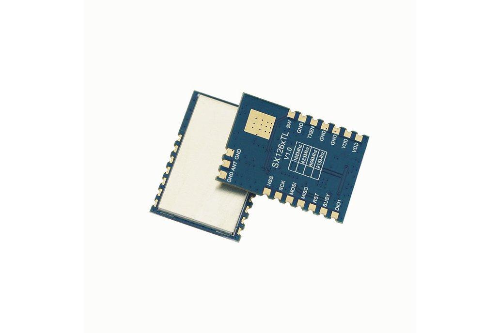 433Mhz 1W 30dBm sx1268 TCXO module DRF1268TL 1