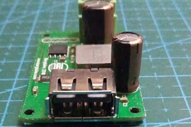 Qualcomm QC2-3 DIY 8-32Vin 3.6-12Vout 2A max