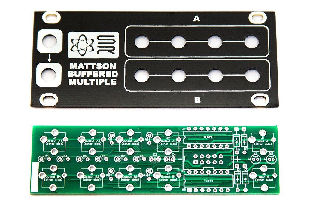 1U Mattson Buffered Multiple PCB and Panel 1