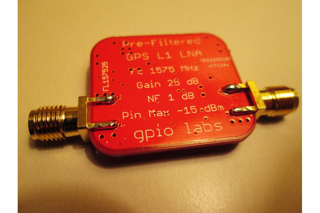 Pre-filtered GPS L1 LNA Ultra Low Noise Amplifier 3