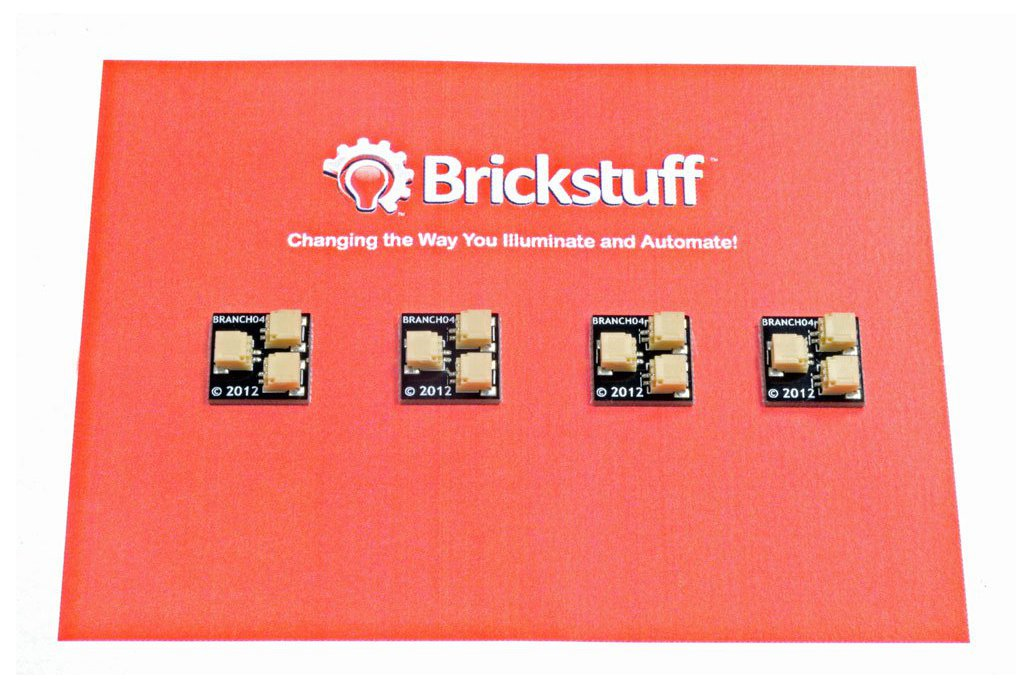 Brickstuff 1:2 Expansion Adapter (4-Pack) 1