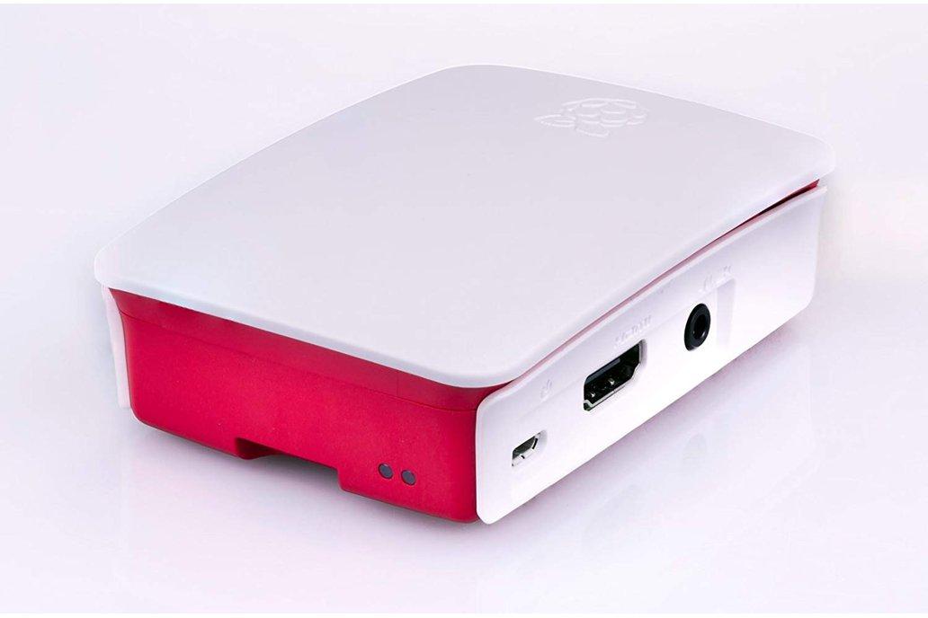 Raspberry Pi 3 Case - Red/White 3