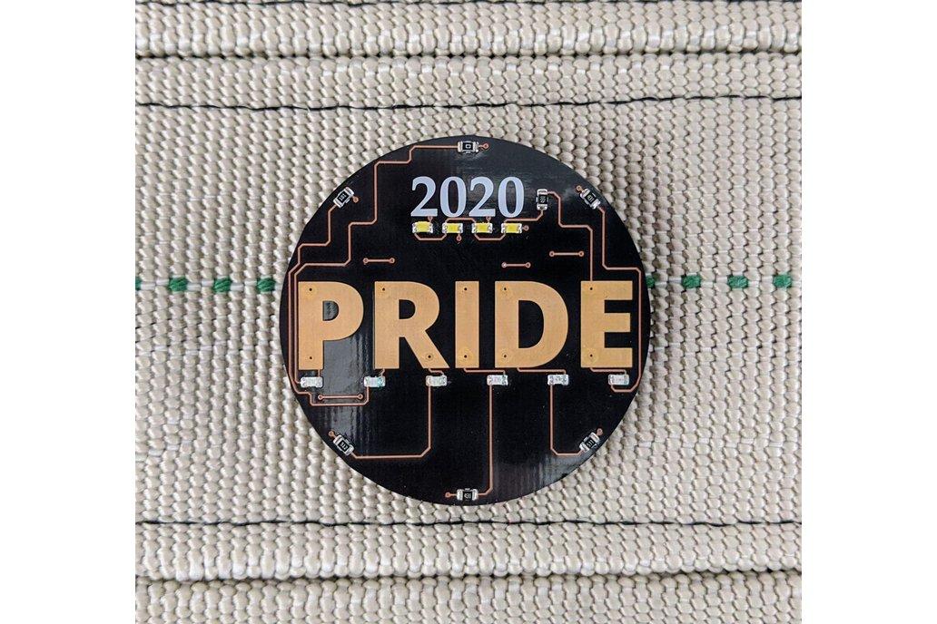 2020 Pride Electronic Pin 1