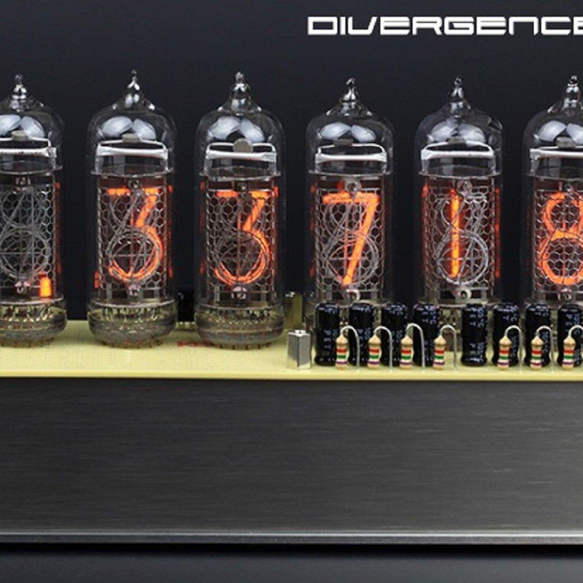 Divergence Meter From Nixie Clocks On Tindie