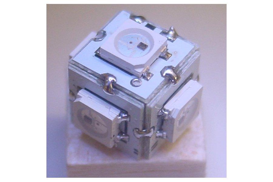 RGB microcube - 9mm side