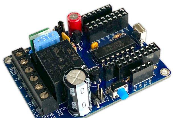 WLED Wemos shield board for addressable LEDs