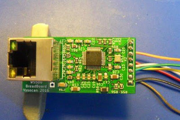 Ethernet W5500 breakout