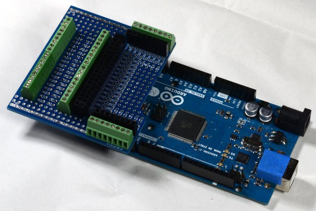 Screw-Block Proto-Shield for Arduino, Expansion