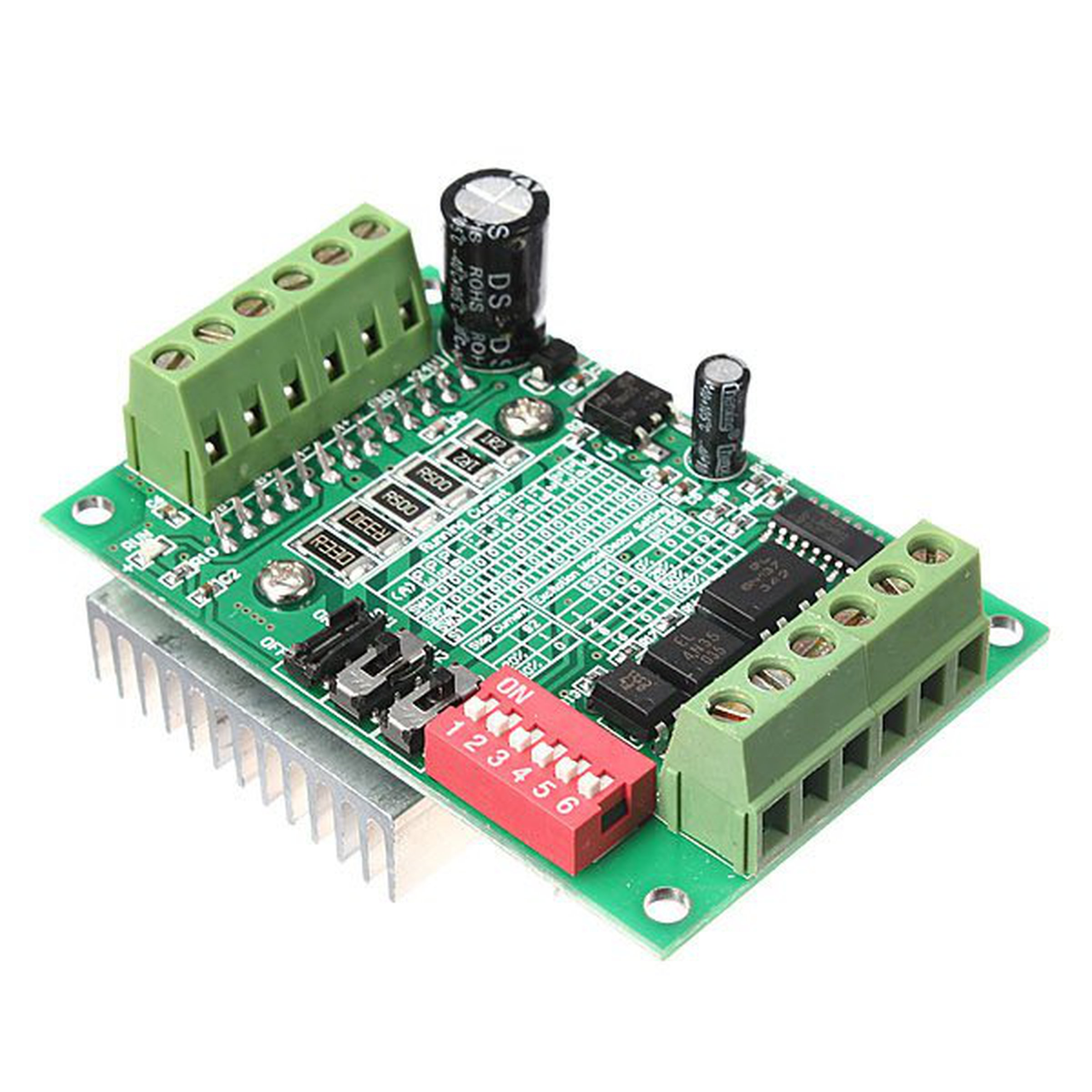 Cnc router 1 axis driver board from mmm999 on tindie for Cnc stepper motor controller