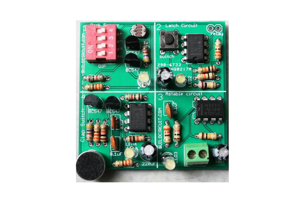 4 in 1 DIY Kit for Electronics Beginners 1