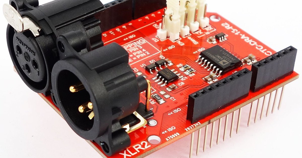 Kv isolated dmx shield for arduino r from
