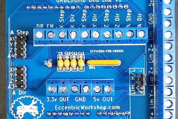 GRBLDuino Uno Lite - GRBL 1.1 CNC Controller
