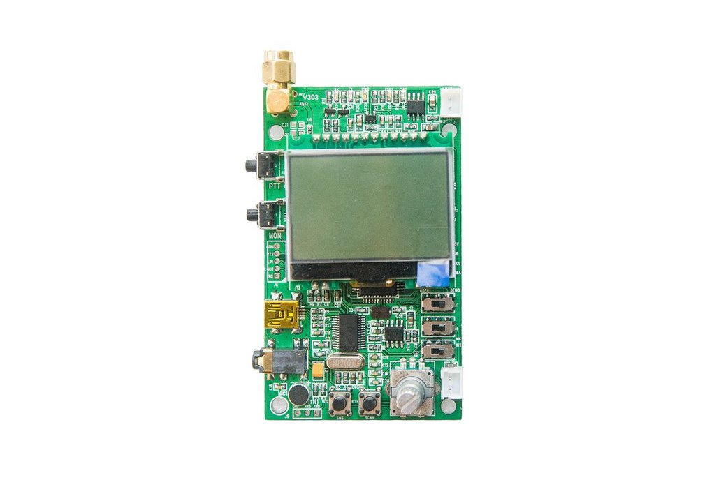 DEMO_D   FM radio module demo board (for 1W VHF) 1