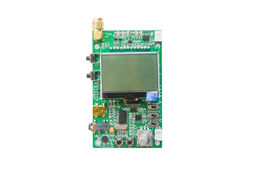DEMO_D   FM radio module demo board (for 1W VHF) 1