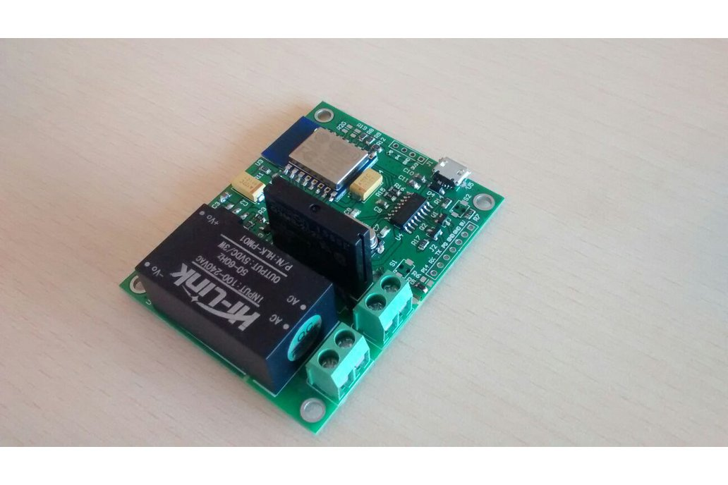 Wifi Esp8266 Solid State Relay SSR Board for IOT 4
