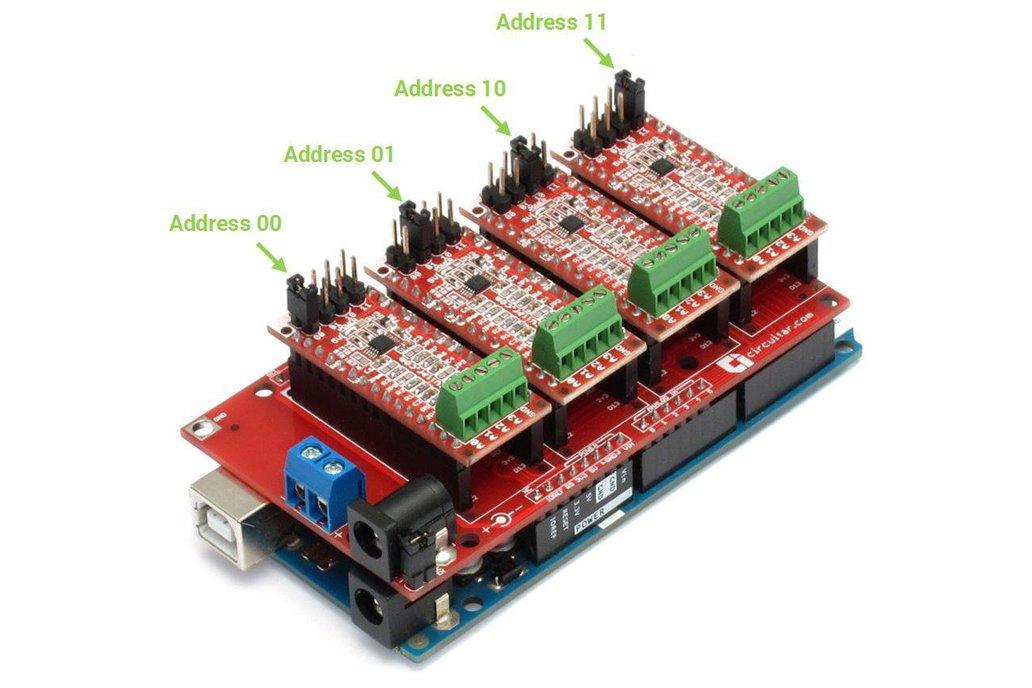 ADC Nanoshield - ADS1115 4