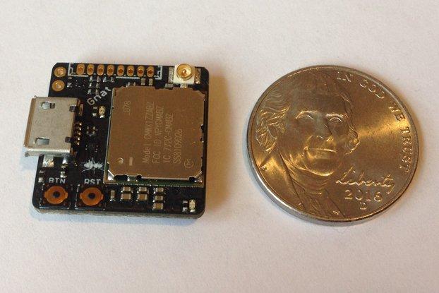 Gnat LoRa+GNSS Asset Tracker