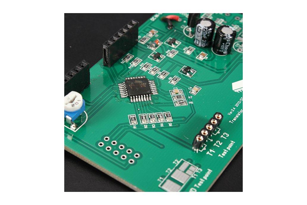 Transistor Tester Capacitor ESR Inductance Resistor Meter 6