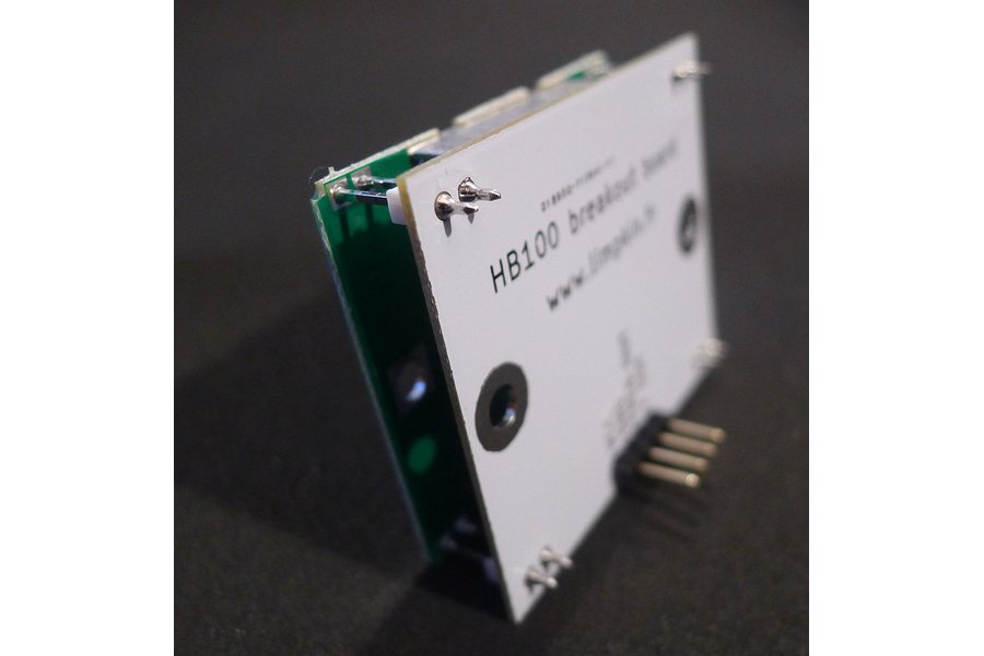 HB100 Doppler Speed Sensor - Arduino Compatible