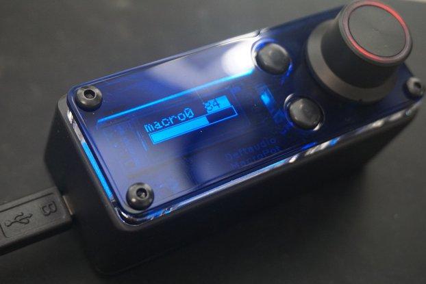 MacroPot deeply programmable MIDI controller Kit