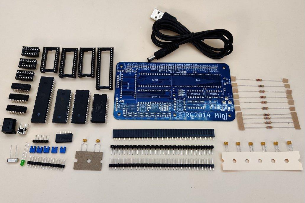 RC2014 Mini - Single Board Z80 Computer Kit 1