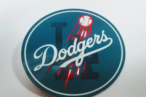 PCB Dodgers Pin