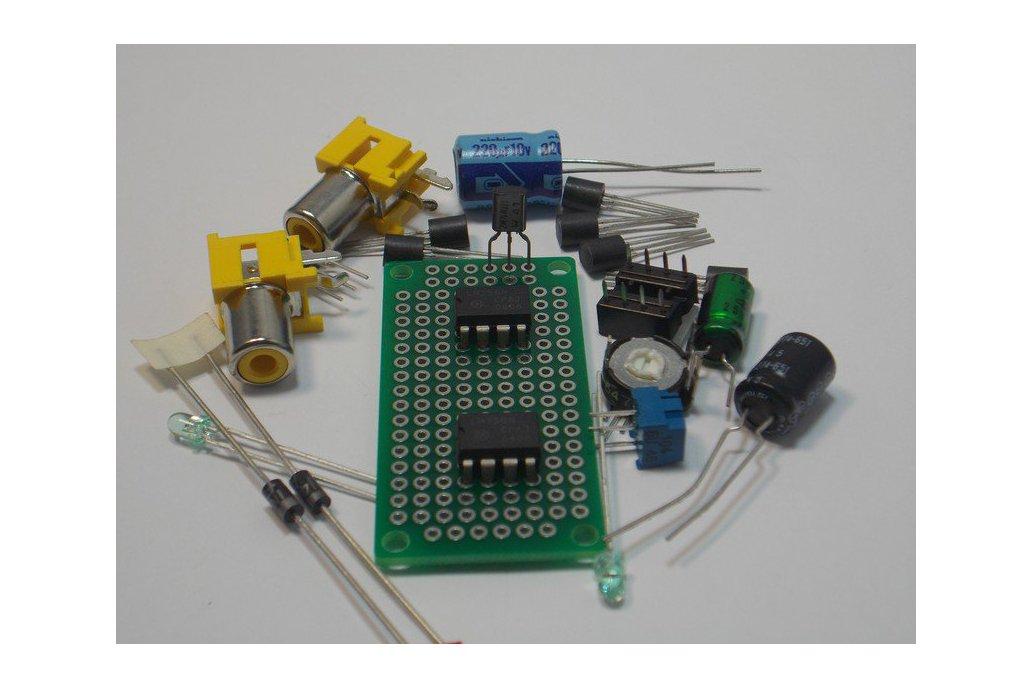 LF351 & LM555 IC Kit (#1280) 1