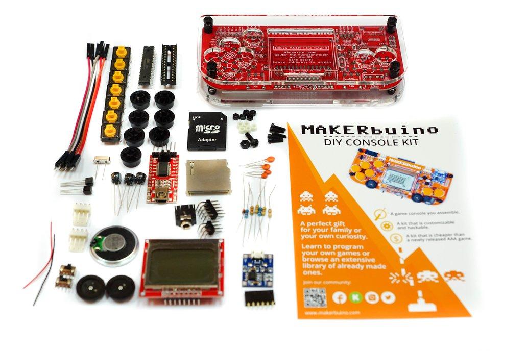 MAKERbuino - a DIY game console 12